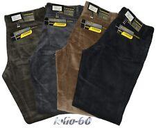 Pantaloni uomo jeans velluto coste taglia 46 48 50 52 54 56 58 60 62 caldo