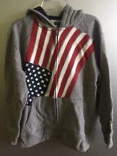 GAP Boys Hoodie  Zip  American Flag Patriotic American size L 10