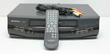 Quasar Vhq 950 4 Head Vcr Vhs Recorder Player w Remote Cables Tested and Working