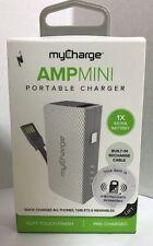 AMP Mini 2000 mAh Portable Charger external Power Bank USA phone battery iphone