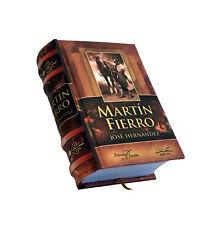 el gaucho Martin Fierro by Jose Hernandez miniature book in spanish easy to read