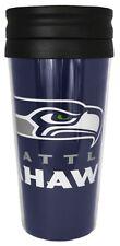 Seattle Seahawks NFL 14oz Insulated Travel Hype Tumbler Coffee Mug