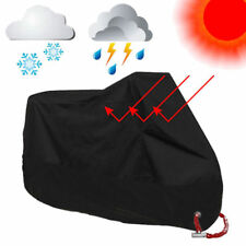 Motorcycle Motor Cover 3XL Waterproof Outdoor Sun Rain Dust Protector with Bag