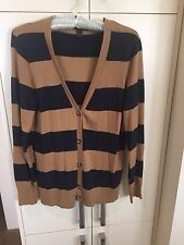 Tommy Hilfiger Women's Button Up Stripped Cardigan - Size Medium