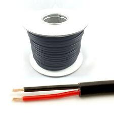 * 16.5 Amp nominal * 1mm2 Pared Delgada 2 Doble Núcleo cable Coche LED Luz Rollo (50M)