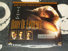 Body of Evidence Letterbox Laserdisc LD Factory Shrink Madonna Free Ship $30