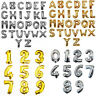 """16""""/40"""" Balloons Golden/Silver Foil Letter Number for Wedding Party Birthday 1PC"""