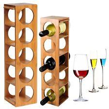 Weinregal Flaschenständer Flaschenregal Weinflaschenständer aus Bambus RG9260br