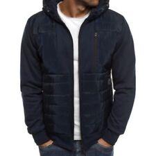 Manteaux et vestes bleu coton pour homme