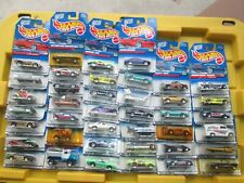 Vintage 1997 Hot Wheels Lot of 40 Cars & Trucks 1:64 Diecast on Cards