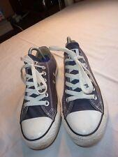 Converse All Star UK 4/US 7 Gris Lona Zapatillas/Zapatillas De Tenis