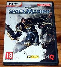 Warhammer 40,000: Space Marine PC Game Excellent Condition 40k