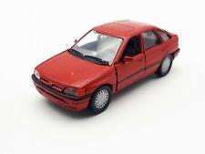 1:43 Schabak 1090/1091 Ford Escort Rot Modellauto Ohne OVP