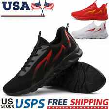 Fashion Men's Outdoor Athletic Sneakers Jogging Sports Running Casual Shoes Gym