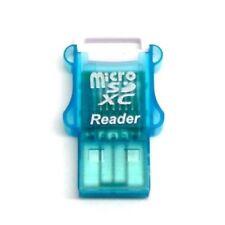MicroSd Hc Xc Turquoise Memory Card Reader Usb For 1 2Gb 4Gb 8Gb 16Gb 32Gb 64Gb
