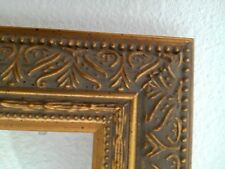 Vintage Ornate Mid Size Gold Picture Frame