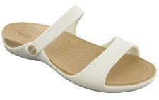 Women's Crocs Cleo V Sandals in Gold UK 7 / EU 39 - 40