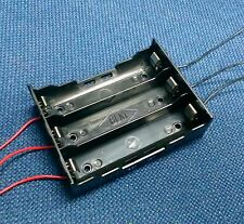 Battery Case Box Holder for 3x 18650 Li-ion 3.7V Batteries Cell in parallel