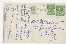 Miss M Roberts Grange Gardens Cardiff 1930 166a
