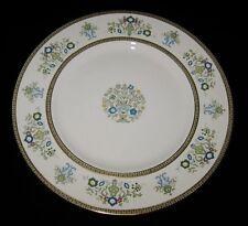 "Minton HENLEY S749, Green/Blue Flowers & Scrolls, Dinner Plates, 10 3/4"""