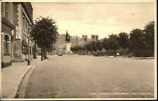 WINCHESTER Vintage Postcard ~1920 King Alfred`s Monument England Great Britain