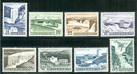 ICELAND #289-96 Power Stations and Waterfalls set NH Scott $76.05