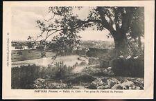 POITIERS 86 CPA Plateau du PORTEAU Vallée CLAIN Fauteuil bois et paille 1900/10