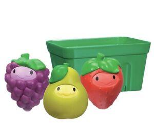 Munchkin Squirt And Strain Fruit Basket Bath Toy Brand New