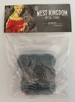 West Kingdom Metal Coins for Architects and Paladins of the West Kingdom NEW