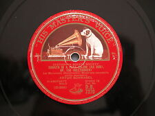 78 rpm SONATA IN D MAJOR + A FLAT MAJOR - BEETHOVEN Arthur Schnabel DB 7370