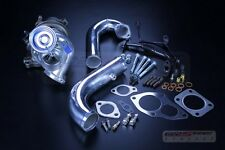 REV9 ECLIPSE 1G 2G DSM GST GSX 4G63 BIG 16G turbo charger (bolt on) +j pipe kit