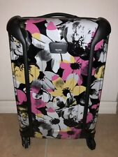 NEW Tumi Floral Vapor International Carry-On Packing Case Travel Luggage #280320