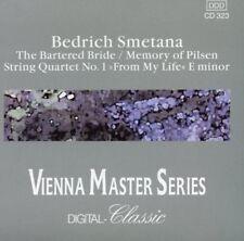 Smetena - The Bartered Bride, Memory of Pilsen, String Quartet No 1 (cd Pilz) VG