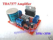 DC 12V TDA7377 35W+35W Car Audio Power Amplifier Board 2x 35W Amp