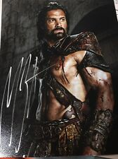 Manu Bennett Arrow Spartacus autographed 8x10 photo COA