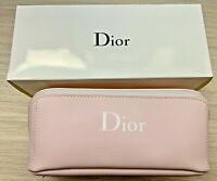 Dior cosmetic bag pouch pale pink matte Vip Gift NIB