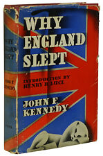 Why England Slept by JOHN F. KENNEDY ~ First Edition 1940 ~ JFK 's 1st Book WWII