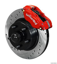 Ford Falcon,Mustang,Comet,Cougar,Wilwood Drilled Front Dynalite Brake Kit  -