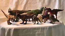 Dinosaur 10 Figure Lot Schleich