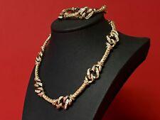 Traumhaftes CHRISTIAN DIOR Collier Halskette & Armband Set vergoldet
