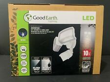 New listing Good Earth Downfire 2n1 Motion Security Light - White