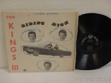 THE KINGS III Riding High PRIVATE LABEL Atlanta GA Vocal Pop-Jazz LP World Wide