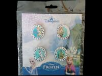 Disney Pin Booster Collection - Frozen 4 Pin Set - Anna Elsa Olaf Castle *NEW*