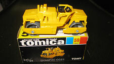 TOMY TOMICA 1.62 SCALE #59 DYNAPAC CC21 ROAD ROLLER  MADE IN JAPAN