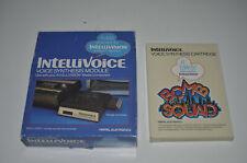Mattel Intellivision - Intellivoice - Sprachausgabe Modul + Spiel alles komplett