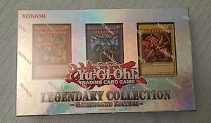 Yugioh Legendary Collection 1 Gameboard Edition w/ God Cards LC01