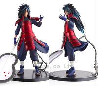 "Anime Naruto Shippuden Uchiha Madara PVC Figures Boys Toys Birthday Gift 8"""
