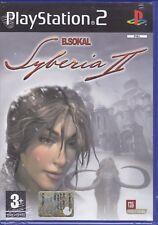 Ps2 PlayStation 2 «SYBERIA II» nuovo sigillato italiano