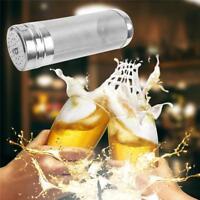 Filter Strainer Mesh Homebrew Beer Basket Hop Hopper Stainless Steel + Brush Q