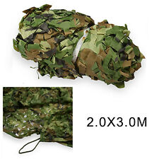 Camouflage Net Army Military Camo Car Covering Tent Hunting Blinds Netting